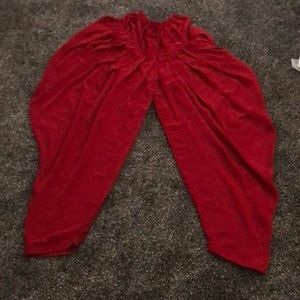 Traditional red Indian Pants